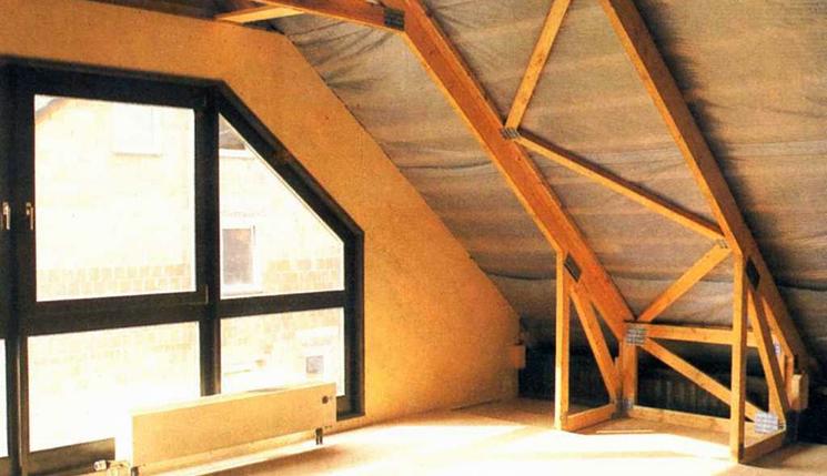 Фото как сделать мансардную крышу