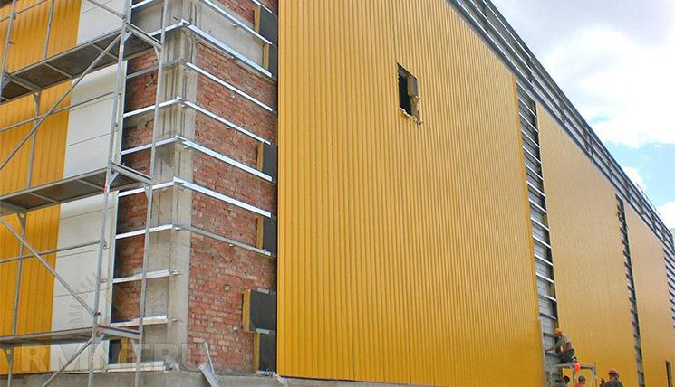Какой толщины пенопласт для утепления фасадов